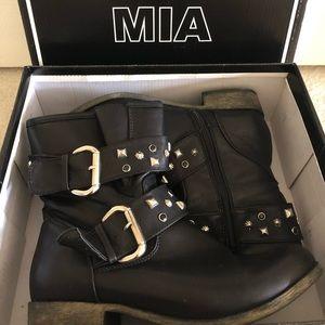 MIA Black Combat Boots